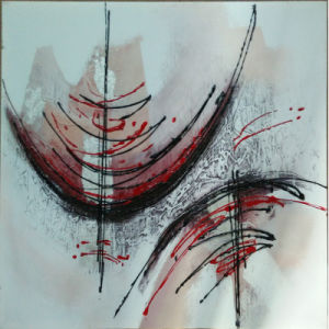 Abstract Oil Painting for Wholesale (LH-122000) pictures & photos