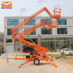 14m Towable Hydraulic Boom Lift pictures & photos