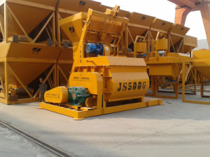 High Quality Concrete Mixer (JS500) pictures & photos
