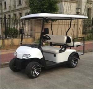 48V 4000W Electric Battery Operated Golf Cart pictures & photos