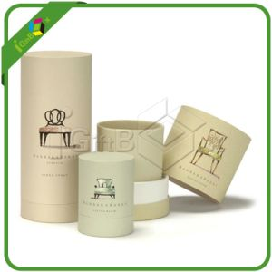 Cylinder Gift Round Box for Candle pictures & photos