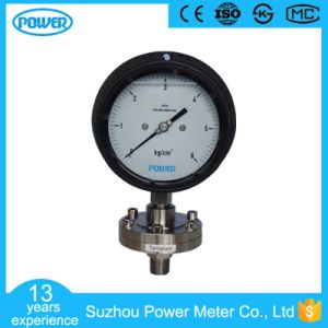 4.5′′ Phenolic Resin Case Oil Filled Safety Diaphragm Pressure Gauge pictures & photos