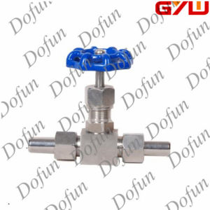 Straight-Through Needle Stop Valve pictures & photos