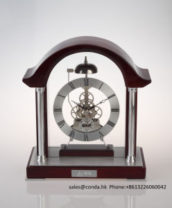 Beautiful Wooden Clock for Desk Decoration K3038n