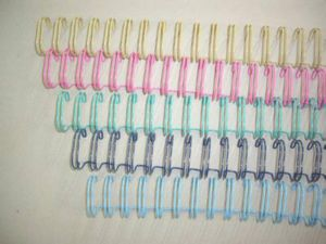 Various Color Double Loop Book Binding Wire pictures & photos