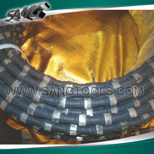 Diamond Wire Saw for Granite Quarry (SGW-GQ-1) pictures & photos