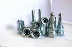 White Carbon Steel Material Hydraulic Hose Fittings pictures & photos