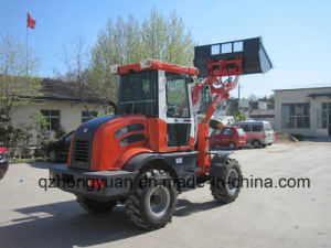 Zl10f 4WD Wheel Loader with Ce Farm Use Agricultural Machine pictures & photos