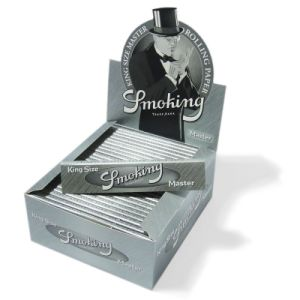 Smoking Rolling Paper King Size Silver Master 50 Booklets (ES-RP-043) pictures & photos