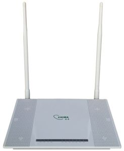 4 Fe + 300Mbps WiFi Router Gepon ONU (SON8018UW7dB)