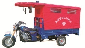 Ambulance Tricycle Emergency Doctor Tricycle 175cc 200cc (KW175-3)
