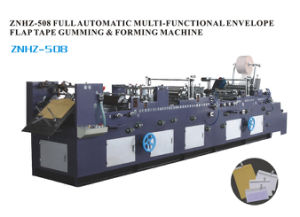 Full-Automation Peal & Seal Mailer Envelope Forming Making Machine (ZNHZ-508)