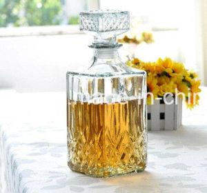1000ml Diamond Cut Decanter Wine Glass Bottle pictures & photos