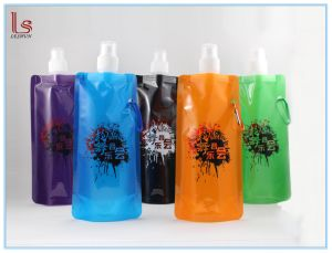 Wholesale BPA Free Plastic Folding Drinking Water Bottle pictures & photos