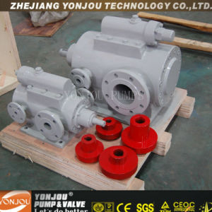 Lq3g Three Screw Pump (4.5~252m3/h, 2inch~12inch, 6~10Bar, 350centigrade oil allowed) pictures & photos