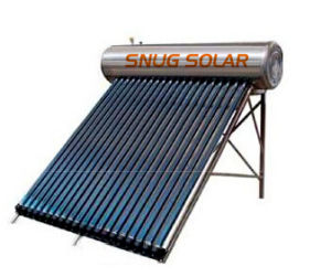 Stainless Steel Pressure Solar Water Heater pictures & photos