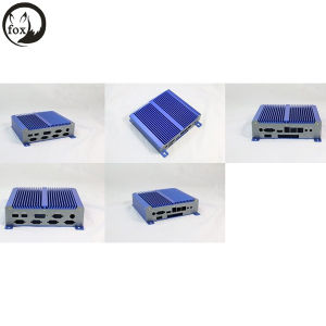 Intel Mini PC Linux Atom D2550 Dual Core 6COM Industrial Mini PC pictures & photos