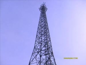 Qingdao Sangao Best Quality Telecommunication Steel Monopole Tower