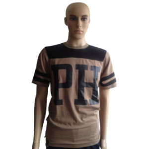 100% Cotton Custom Short Sleeve Men Printed T-Shirts pictures & photos