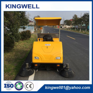 Electric Ride on Road Sweeper (KW-1760C) pictures & photos