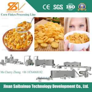 Choco Flakes/Coco Pops Processing Machines/Extruder pictures & photos
