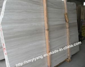 White Wood Grain Marble for Slab, Tile, Floor pictures & photos
