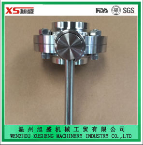Food Grade Stainless Steel Ss304 Sanitary Manual Weld Butterfly Valves pictures & photos
