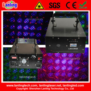 RGB 8 Gobo Fireworks Twinkling Laser Disco Light pictures & photos