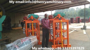 Qtj4-40 Industry Equipment and Concrete Block Machine for Small Business pictures & photos