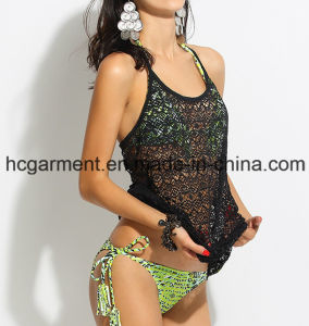 Swimming Clothes Cover up Vest for Women/Lady, Beach Wear pictures & photos