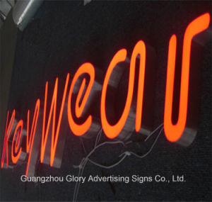 Epoxy Resin LED Shop Letter Sign pictures & photos