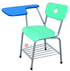 High Quality Tablet Arm Chair for Student School pictures & photos
