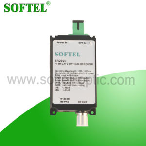 1GHz FTTB Fiber Optical Receiver with Build-in Filter pictures & photos