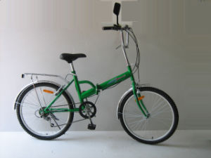 "24"" Steel 6 Speed Folding Bike (FP246) pictures & photos"