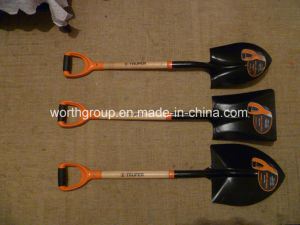 Wooden Handle Shovel pictures & photos
