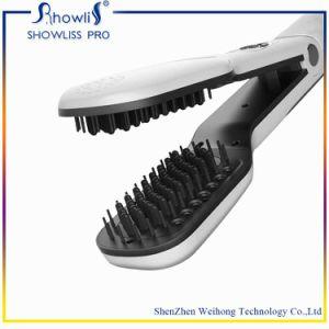 Steam Hair Straightener Brush pictures & photos