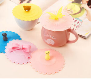 2016 Cute Design FDA Hot Selling Silicon Cup Lids pictures & photos