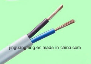 Flat-Twin PVC Insulated and Sheathed Cables Building Wire BS 6004: 2000 pictures & photos