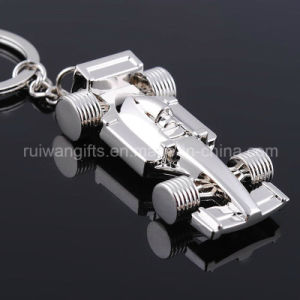 Wholesale F1 Racing Car Metal Keyholder (MKC124) pictures & photos