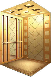 CE Approved Gearless Machine Roomless Passenger Elevator pictures & photos