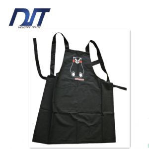 Professional Aprons Custom High Quality Black Adjuster Cotton Kitchen Apron pictures & photos