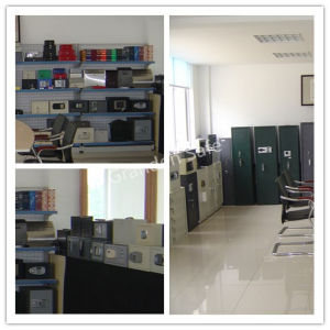 Electronics Safe with LCD Display for Office (G-30EL) Solid Steel pictures & photos