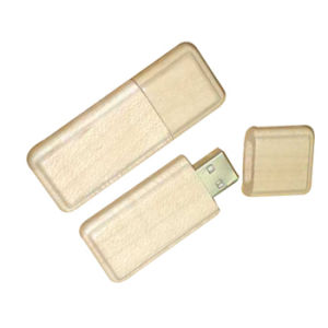 Popular Wood/Bamboo USB Flash Drive, Various Color pictures & photos
