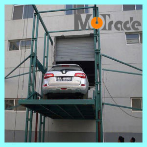 China mutrade ground 2 storey stop simple parking lift for 2 story elevator