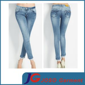 Slimming Boyfriend Stretch Young Ladies Pants Jean (JC1257) pictures & photos