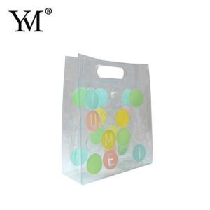 Clear Transparent Promotional Travel Cosmetic Makeup Bag pictures & photos