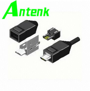 Micro USB3.0 Receptacle SMT Ab Type Connectors, Gold-Plated Contact Ensures Low-Contact Resistance pictures & photos