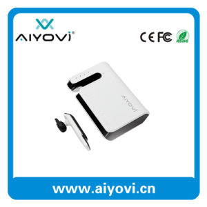 Portable Mobile Power Bank with Built-in Bluetooth Headset pictures & photos