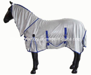 Breathable Gray Summer Fly Sheet Mesh (SMR3208) pictures & photos