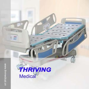 Thr-Eb5301 High-Level Five-Function Electric Hospital Bed pictures & photos